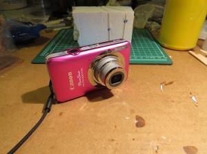 Canon ELPH-100 HS camera (photo taken with a Canon SX-50 HS camera)