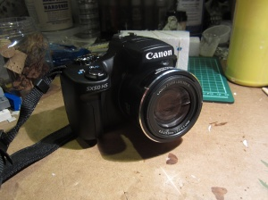 Canon SX-50 HS camera (photo taken with a Canon ELPH-100 HS camera)