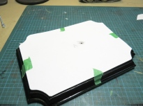 A paper template, to plan the layout.