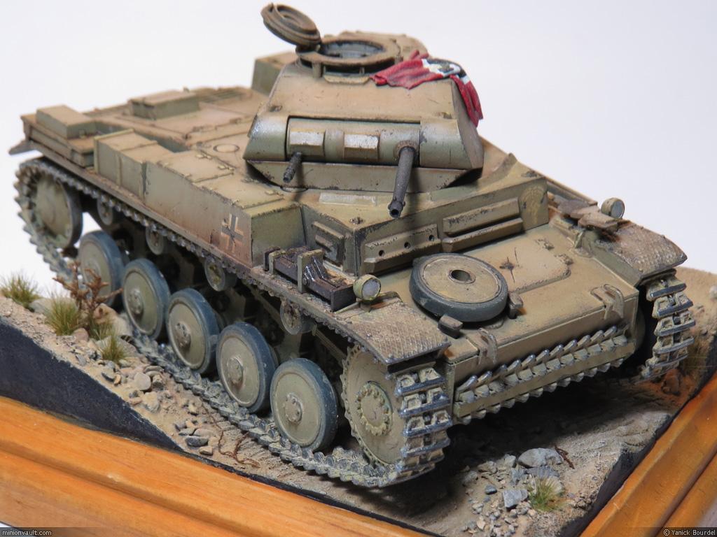 An Old Panzerkampfwagen Ii Minionvault